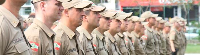 Os cargos do concurso PM SC soldado