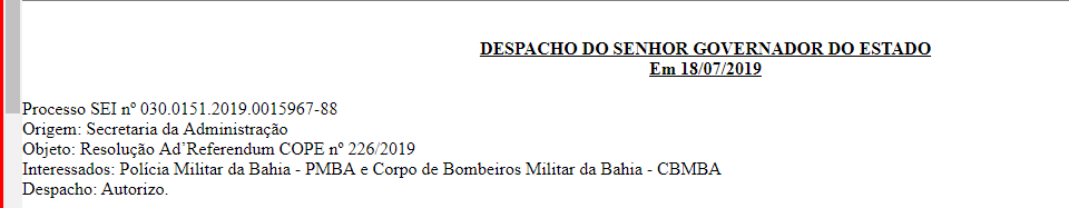 image 8 - Concurso PM BA AUTORIZADO, prepare-se desde já!