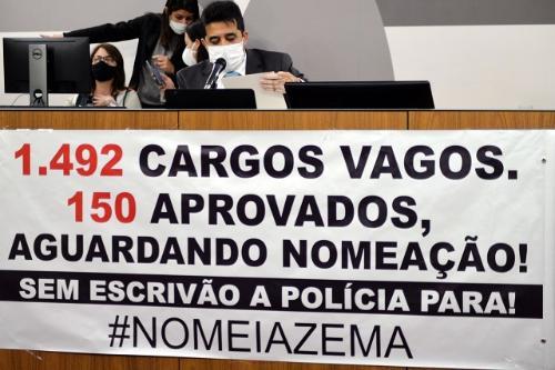 Segurança Pública volta a debater defasagem de efetivo